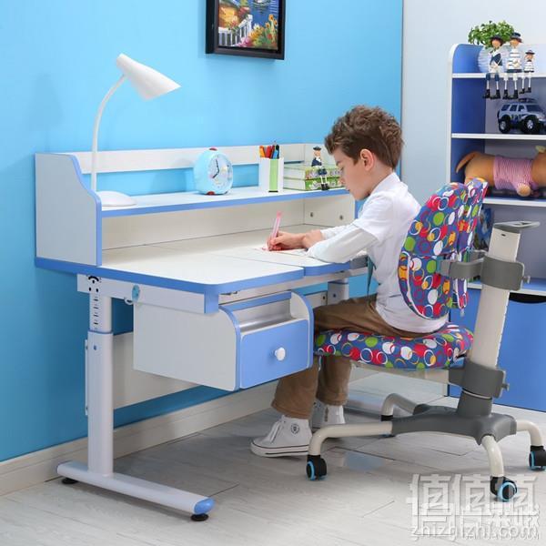 Prime会员专享镇店之宝,Sihoo 西昊 KD15+K28 儿童学习桌椅套装 送护眼灯+原装换洗椅套+包安装新低1499元包邮