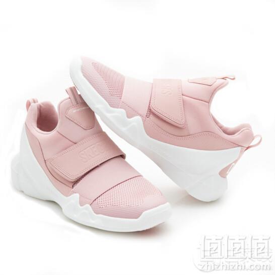 Skechers 斯凯奇 DLT-A系列 女款一脚蹬休闲鞋 66666085-PNK249元包邮