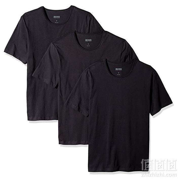 HUGO BOSS 男士纯棉圆领T恤3件装  Prime会员凑单免费直邮到手185.41元