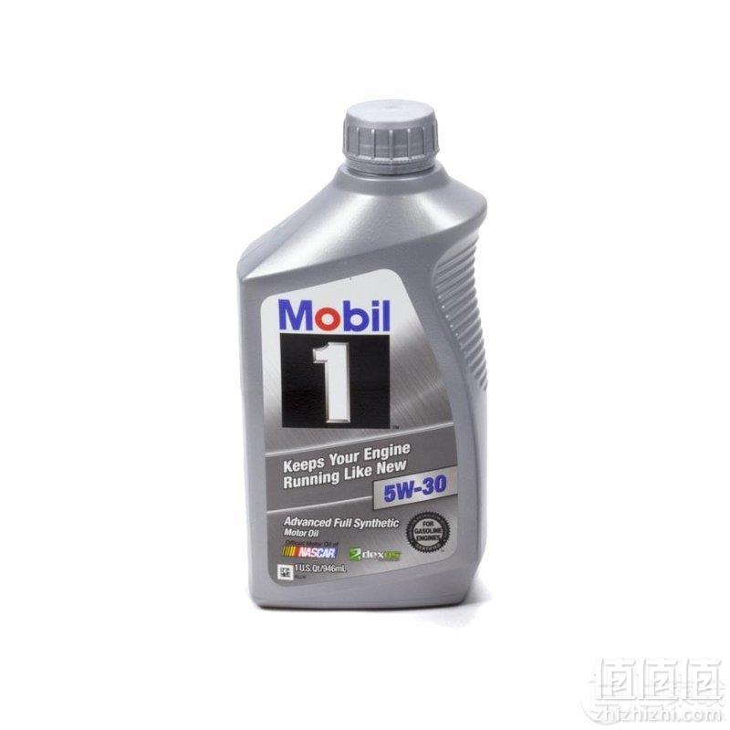 Mobil 美孚 1号 全合成机油5W-30 946ml*3支装 ¥133.21含税包邮44.4元/件