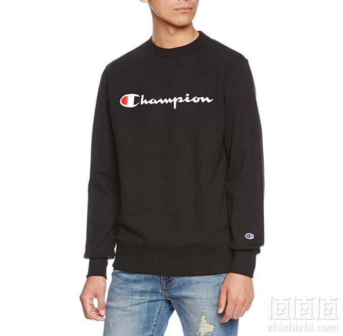 Champion 冠军牌 日本线 C3-L023 男士圆领卫衣 Prime会员凑单免费直邮到手166元