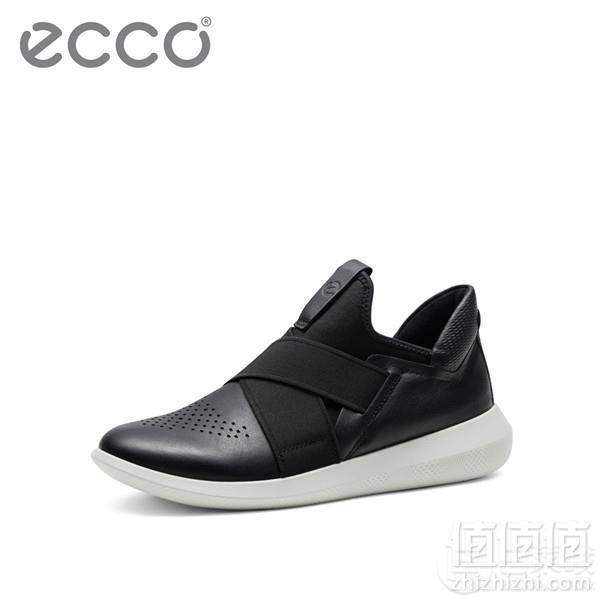 ECCO 爱步 Scinapse 赛速 女士弹力松紧带休闲鞋 450543新低439元包邮