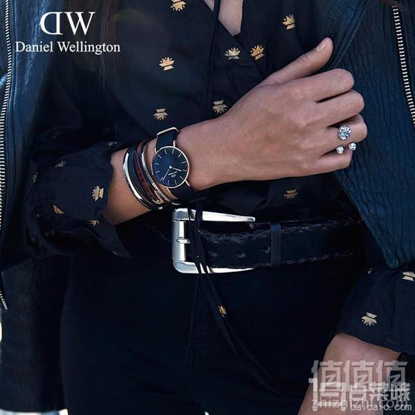 Daniel Wellington 丹尼尔·惠灵顿 DW00100148 中性时尚腕表467.1元包邮(Prime会员9折)