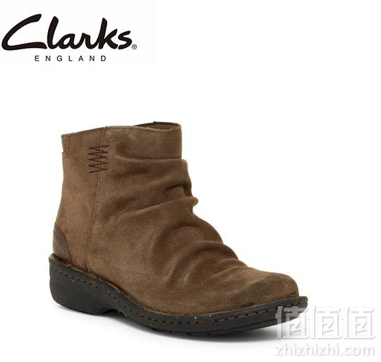 限US5.5码,Clarks 其乐 女士翻毛皮踝靴 Prime会员凑单直邮含税到手新低204.25元