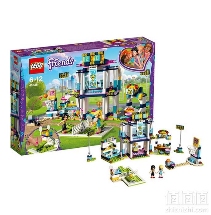 LEGO 乐高 Friends 好朋友系列 41338 斯蒂芬妮的体育场新低239元包邮(多重优惠)
