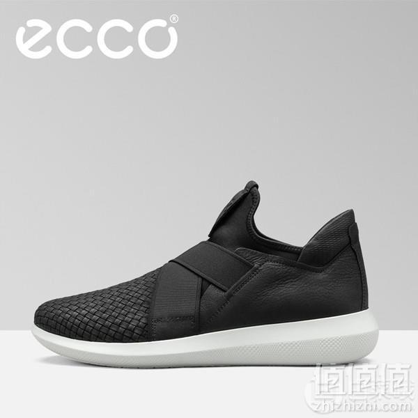ECCO 爱步 Scinapse 赛速 男士弹力松紧带休闲鞋450614 两色438元包邮包税(天猫旗舰店1598元)