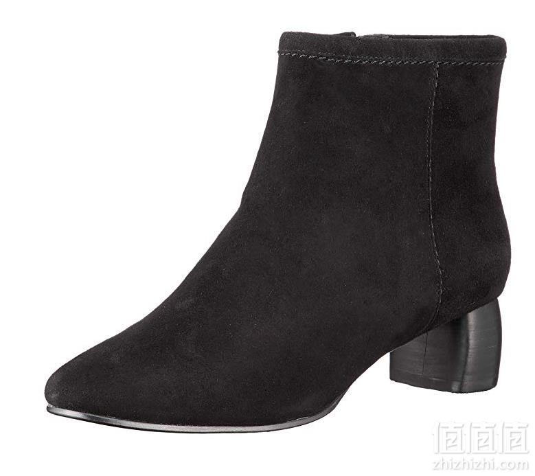 Clarks 其乐 Grace Bella 26134885 女款羊皮粗跟短靴442元包邮