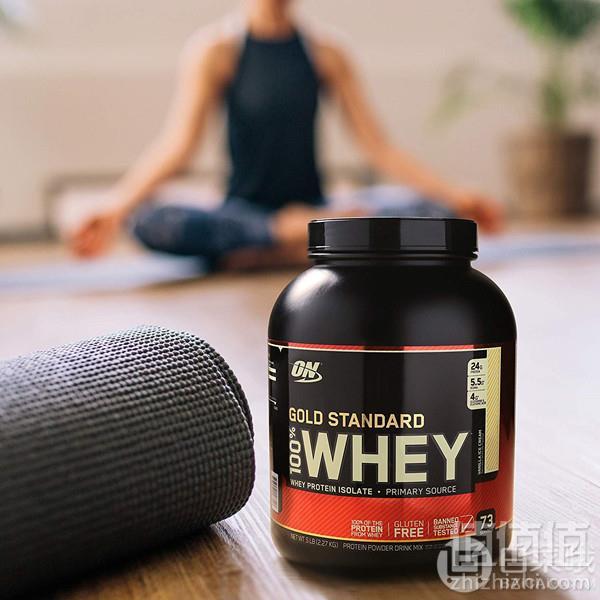 Optimum Nutrition 欧普特蒙 金标 乳清蛋白增肌粉 香草奶油味 2.27kg329.19元