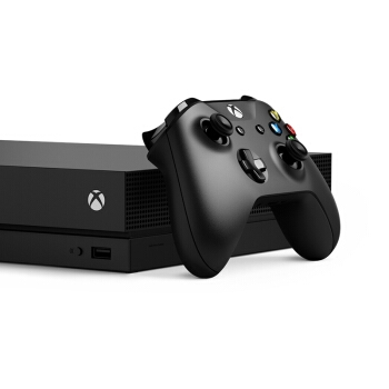 Microsoft 微软 Xbox One X 游戏主机+《地平线4》+《乐高竞速》 图4