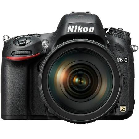 Nikon 尼康 D610 全画幅单反相机套机(24-120mm F4G镜头) 图2