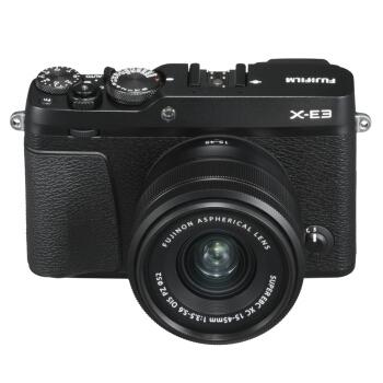FUJIFILM 富士 X-E3 APS-C画幅 微单套机(XC 15-45mm) 图3