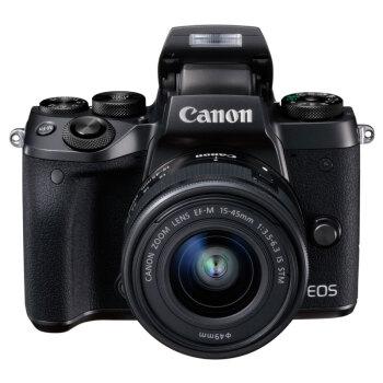Canon 佳能 EOS M5(EF-M 15-45mm f/3.5-6.3)无反相机套机 图1