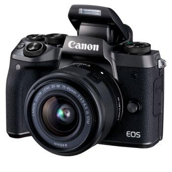 Canon 佳能 EOS M5(EF-M 15-45mm f/3.5-6.3)无反相机套机 图2