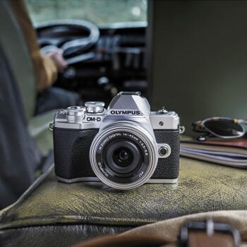 OLYMPUS 奥林巴斯 E-M10 MarkIII 微单相机 双镜头套机(14-42mm+40-150mm) 图4