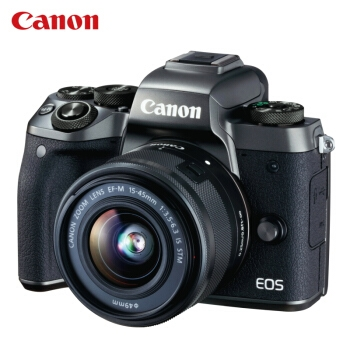 Canon 佳能 EOS M5(EF-M 15-45mm f/3.5-6.3)无反相机套机 图3