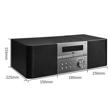 JBL MS512 音响 音箱 迷你音响 DVD播放机 蓝牙音响 音响套装 组合音响 HIFI音响 电脑音响 图3