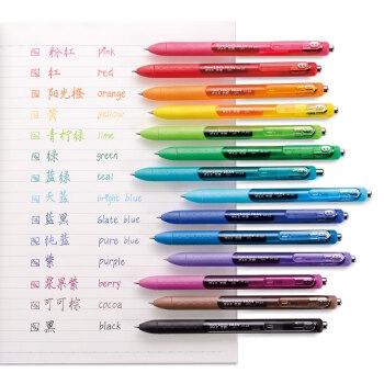 Paper Mate 缤乐美 P1 意趣速干中性笔 0.5mm 天蓝色 单支装 *3件 图3