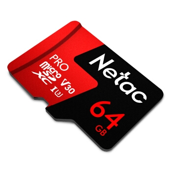4日0点: Netac 朗科 Pro microSDXC UHS-I A1 U3 TF存储卡 64GB 图5