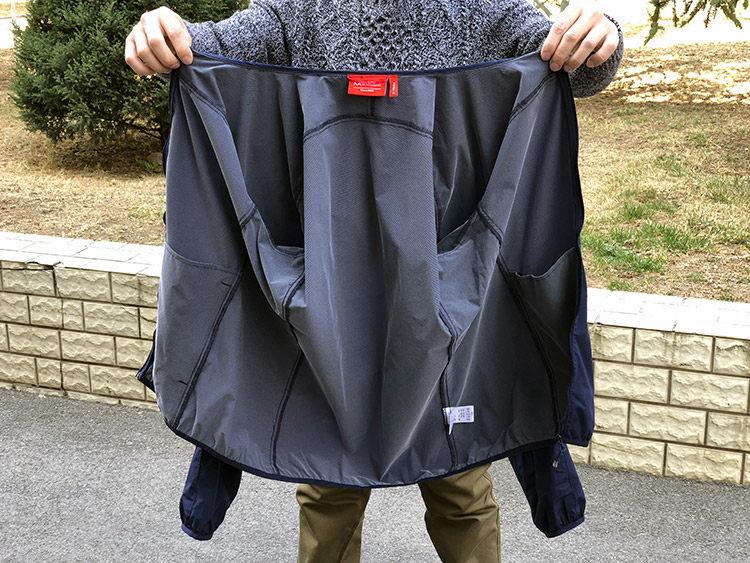 地球科学家 防风防泼水防晒 透气有弹力 男全功能皮肤风衣 图6