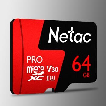 4日0点: Netac 朗科 Pro microSDXC UHS-I A1 U3 TF存储卡 64GB 图3