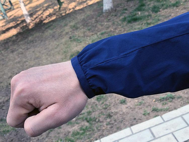 地球科学家 防风防泼水防晒 透气有弹力 男全功能皮肤风衣 图4