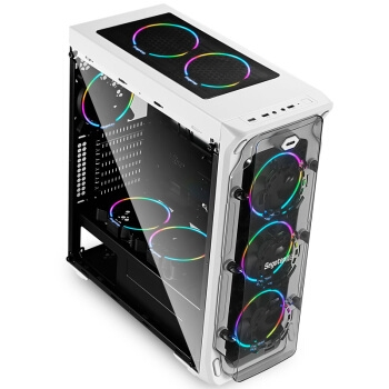 PLUS会员: Segotep 鑫谷 LUX重装版 机箱 白色 图4