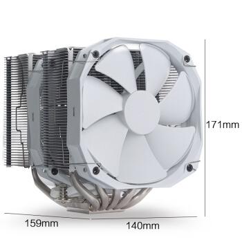 PLUS会员: PHANTEKS 追风者 TC14PE CPU散热器 白色 图3