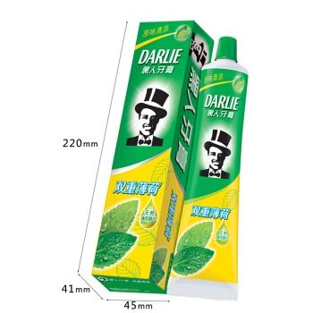 DARLIE 黑人 双重薄荷牙膏 175g 图3