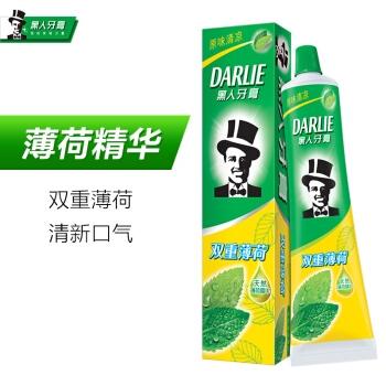 DARLIE 黑人 双重薄荷牙膏 175g 图1