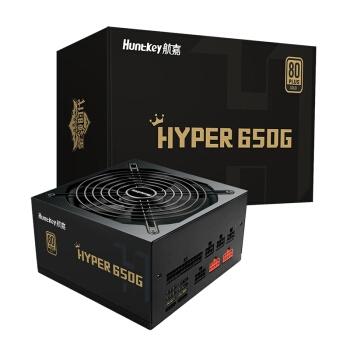 Huntkey 航嘉 HYPER 650G 台式机电源 额定650W 图1