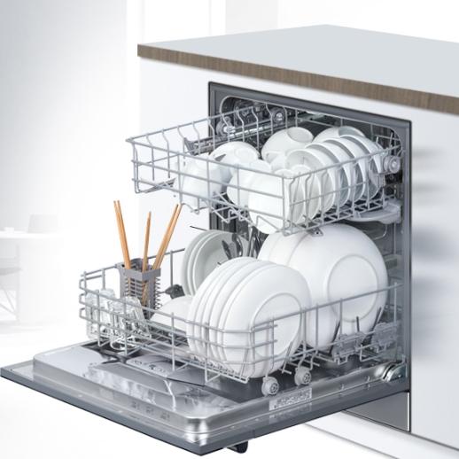 限地区、PLUS会员: SIEMENS 西门子 SC73M612TI 洗碗机 8套 图5