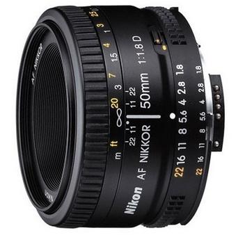 Nikon 尼康 AF NIKKOR 50mm f/1.8D 标准定焦镜头 图5
