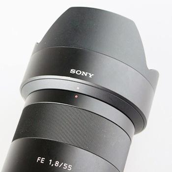 SONY 索尼 Sonnar T* FE 55mm F1.8 ZA 标准定焦镜头 索尼FE卡口 49mm 图4