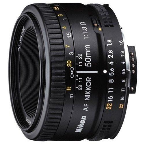 Nikon 尼康 AF NIKKOR 50mm f/1.8D 标准定焦镜头 图1