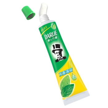 PLUS会员: DARLIE 黑人 双重薄荷牙膏 175g 图2
