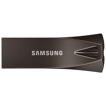 SAMSUNG 三星 Bar Plus USB3.1 U盘 64GB 深空灰 图2