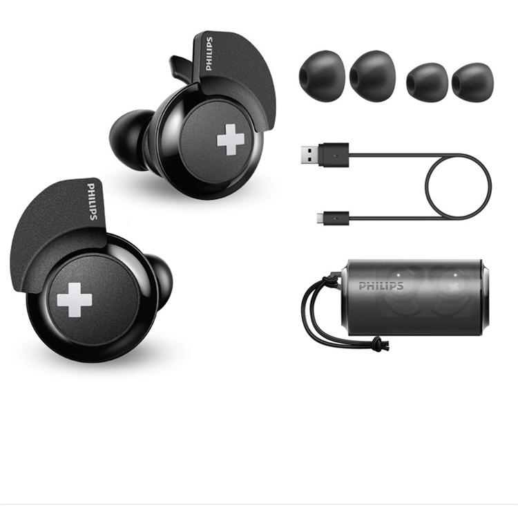 PHILIPS 飞利浦 SHB4385 耳塞式蓝牙耳机 黑色 图2