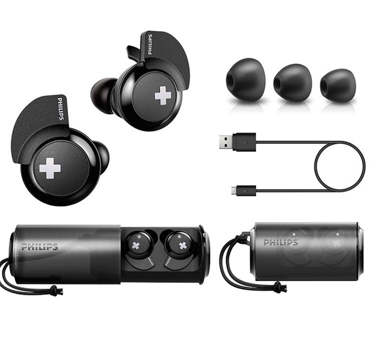 PHILIPS 飞利浦 SHB4385 耳塞式蓝牙耳机 黑色 图3