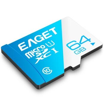 EAGET 忆捷 T1 TF存储卡 Class10 64GB 图4