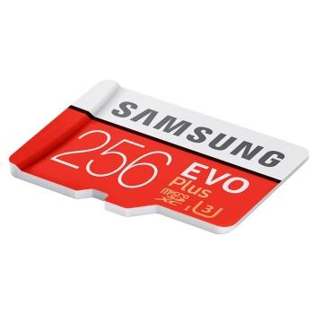 SAMSUNG 三星 EVO Plus MicroSD存储卡 256GB 图4
