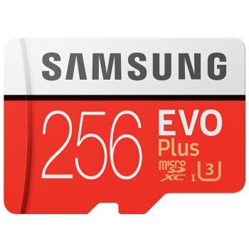 SAMSUNG 三星 EVO Plus MicroSD存储卡 256GB 图1