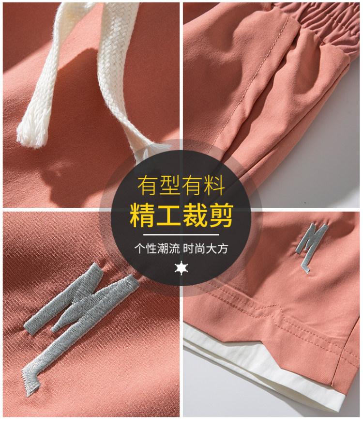 VZI  男士夏季冰丝薄款短裤 图4