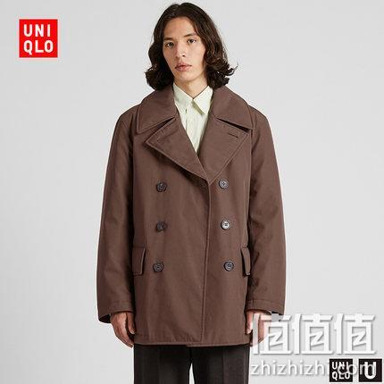 U系列 男子保暖双排扣大衣