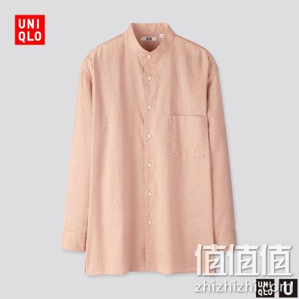 U系列 麻棉立领衬衫(长袖) 426177