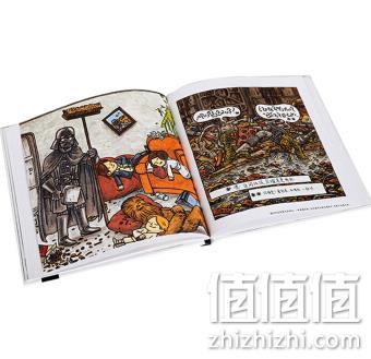 《星球大战治愈系手绘外传》(全4册) 166.3元,可400-260做到58.21元 值值值-买手聚集的地方