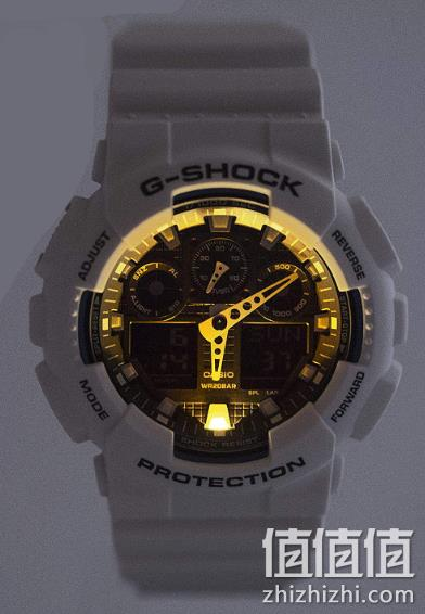 CASIO 卡西欧 G-shock GA-100B-7AER 男士双显运动手表 526.15元包邮 值值值-买手聚集的地方