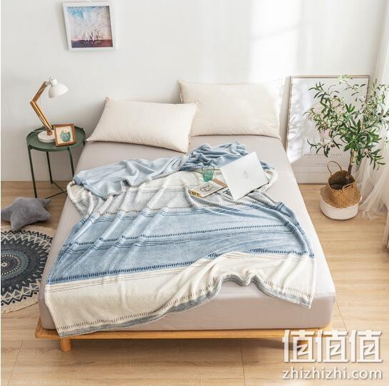 J.ZAO 京东京造 珊瑚绒毯子 150x200cm 49元 值值值-买手聚集的地方