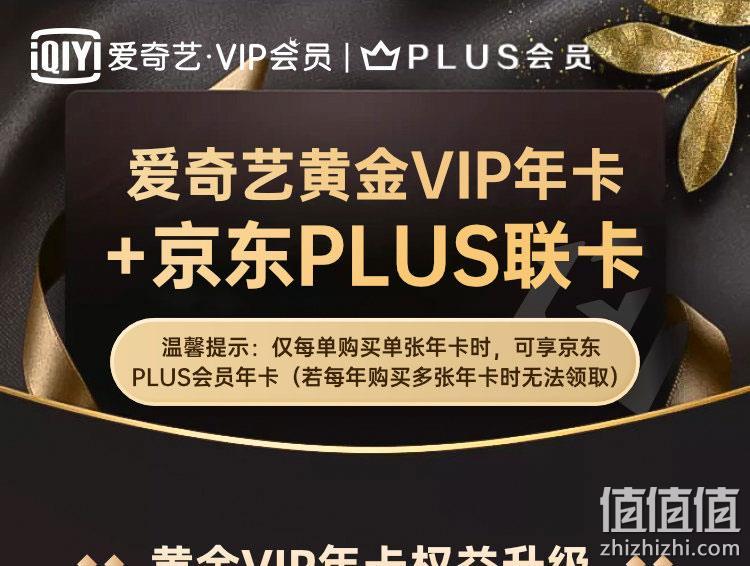 今晚0点!爱奇艺 vip黄金会员 12个月+京东PLUS会员 12个月 149元秒充 值值值-买手聚集的地方