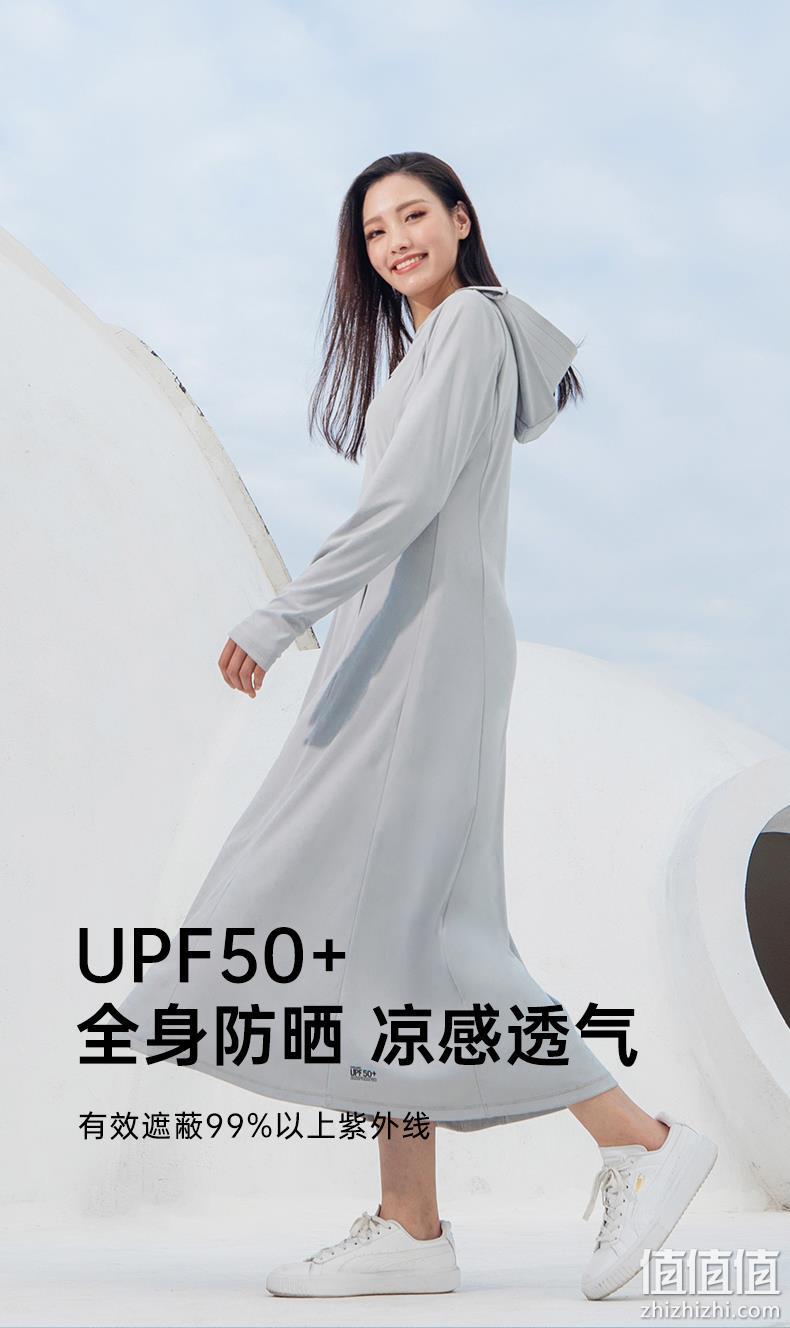 ohsunny UPF50+中长款防晒衣外套 220元包邮 值值值-买手聚集的地方