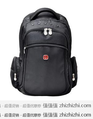 WENGER 威戈 S859109045 14寸电脑双肩包 黑色  飞虎乐购团购价格139元